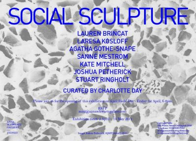 SOCIAL SCULPTURE_2011_Opening Invitation