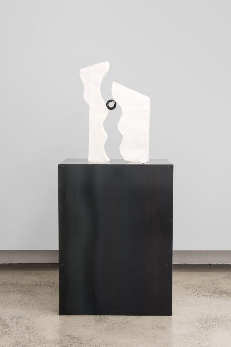 Sanne Mestrom, 'Dear Clive', 2015; Ceramic (ft. Clive Murray White's electric tape)