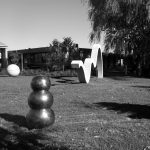 Loose Variables, Westbourne Grammar, 2017; Concrete, bronze, brass, steel